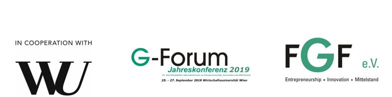 Reminder: G-Forum 2019 Wien - Call for Papers submission